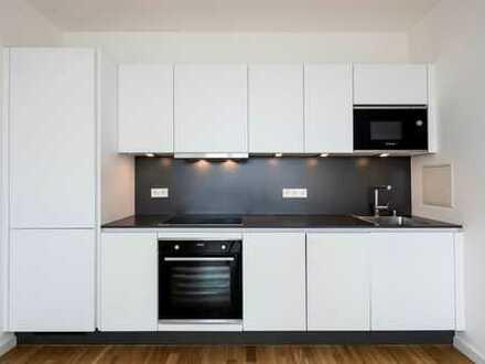 Moderne, neuwertige 2-Zimmer-Wohnung mit Balkon und EBK in Nippes, Köln