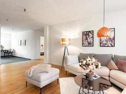 Wunderschöne 3-Zimmer-Wohnung auf ca. 115 m² Wohnfläche mit großem Wohnbereich & Balkon