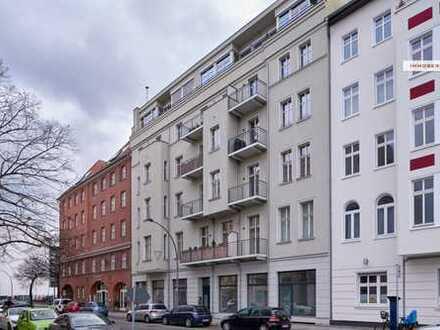 IMMOBERLIN: Toplage! Lichtdurchflutete vermietete Wohnung mit Sonnenterrassen