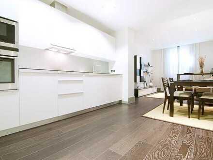 Ultra-moderne Wohnung mit einem Schlafzimmer zu vermieten
