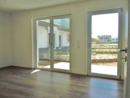Helle hochwertige 2-Zimmer-EG-Wohnung mit Garten, Erstbezug, Aufzug, TG,