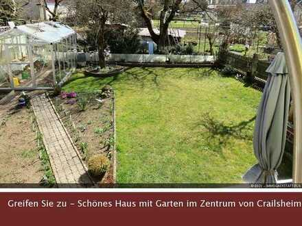 Schön saniertes Einfamilienhaus im Stadzentrum von Crailsheim zu verkaufen