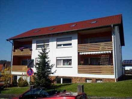 Schöne drei Zimmer Wohnung mit Terasse in Büdingen-Lorbach
