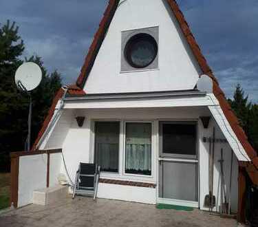 ***Finnhaus am Bodden*** sehr ruhige Lage direkt am Nationalpark Vorpommersche Boddenlandschaft**