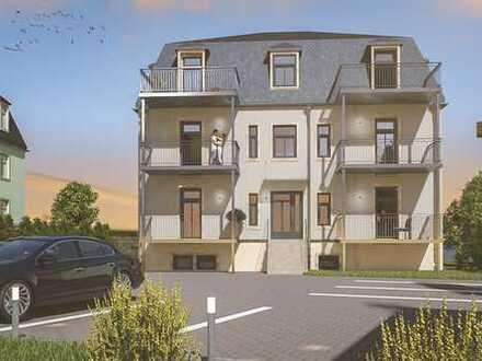 **Erstbezug nach Kernsanierung** helle, große 4-Raum-Wohnung mit zwei Balkonen in ruhiger Lage