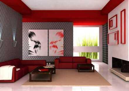Untermeitingen - 3 Zi-Etagenwohnung im 1.OG mit großer überdachter Loggia