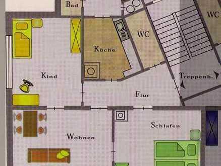 Helle 3-Zimmer-Wohnung in Reutlingen