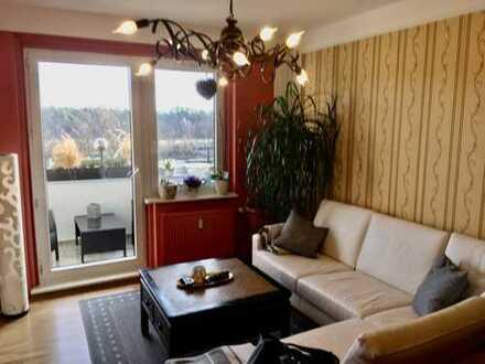 Frisch sanierte Balkonwohnung mit tollem Ausblick