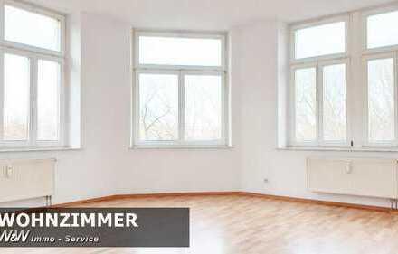 Frisch renovierte, helle 2 Zimmer Wohnung mit Blick ins Grüne.