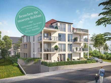 Durchdachter Wohngenuss in jeder Lebenslage! 4-Zimmer-Neubauwohnung in schöner Umgebung