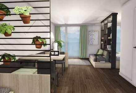 Möbliertes Apartment (Suite Penthouse, Typ J) mit bis zu 18.000 € Tilgungszuschuss