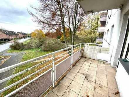 Wohnen am Toeppersee! 3 Zimmer Wohnung mit herrlichem Balkon