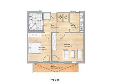 Behindertengerechte 2 Zimmerwohnung mit Südbalkon und Lift sucht Nachmieter