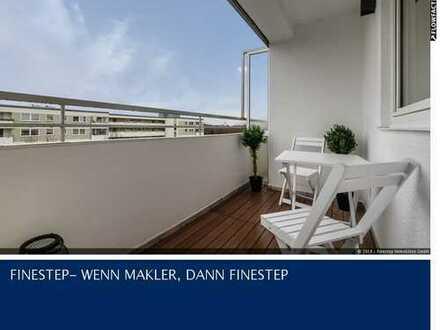 Bezugsfrei mit toller Aussicht: 3-Zi.-Wohnung neu renoviert in Forstenried