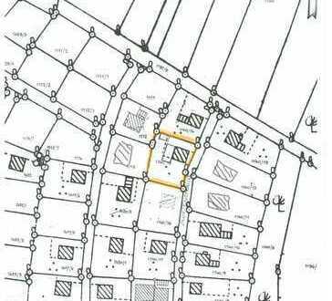 Grundstück 846m² mit Altbestand z. Abriss in Kösching in zentraler ruhiger Wohnlage