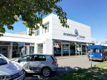 Attraktives Gewerbeobjekt zur Miete - Autohaus mit Werkstatt und Ausstellung