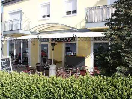 Kapitalanlage in Bad Wörishofen: Bistro Café mit Inneneinrichtung und Terrassenbewirtung!