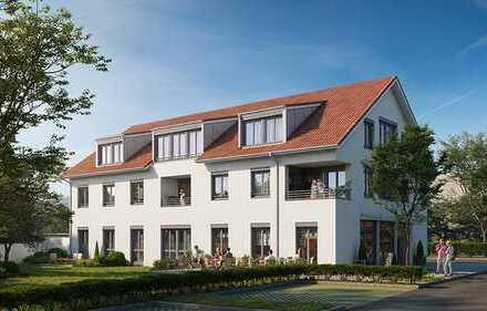 Idyllische Neubau-Dachgeschosswohnung im Ortskern von Durach zu verkaufen