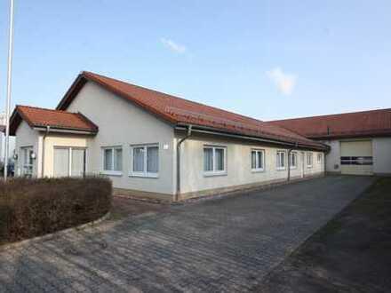 Gewerbehalle mit Büro in Berka/Werra zu verkaufen!