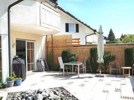 Modernes, gepflegtes Einfamilienhaus mit Doppelgarage, sonnigem Garten und Dachterrasse