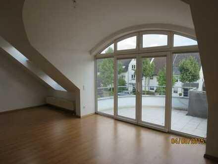 Maisonette-Galerie-Wohnung mit großem Südbalkon in Mannheim-Niederfeld