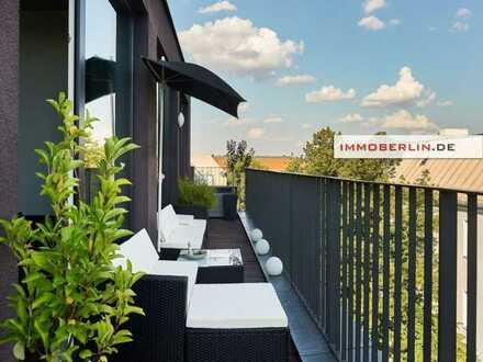 IMMOBERLIN.DE - Faszinierende Wohnung mit 3 Sonnenterrassen & Penthouse-Flair