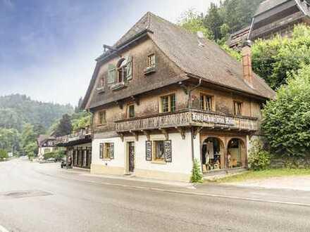 Charmantes Schwarzwälder Wohnhaus mit einer großen Ladenfläche