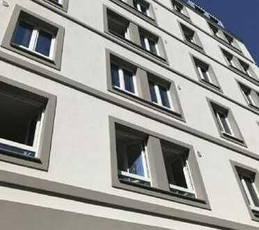 City Lage! Neubau Top 2-Zi.-Erdgeschosswohnung mit EBK&Balkon in Hammerbrook, Möbliert gegen Ablöse