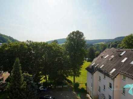 Sonnige 2 1/2 - Raum Wohnung mit Blick ins Erzgebirge.
