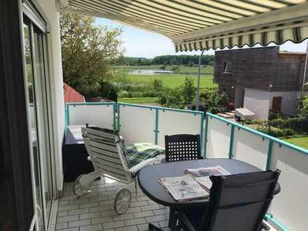 3-Zimmer Wohnung mit schöner Aussicht und in Ortsrandlage - OT Eichen
