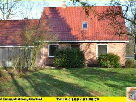 Barßel-Lohe, saniertes Einfamilienhaus in Alleinlage mit Garage zum 01.08.2018 zu vermieten