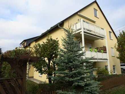 Gepflegte 4-Zimmer-Maisonette-Wohnung mit Balkon und EBK in Chemnitz Reichenhain