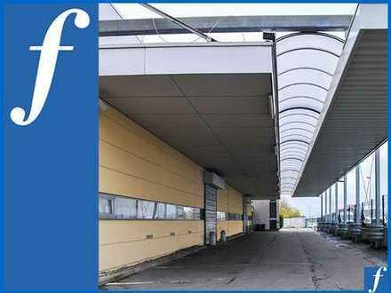 Hallenhöhe bis 5,8 m * Überdachte Andienung * Flexible Büroräume * 50 Stellplätze