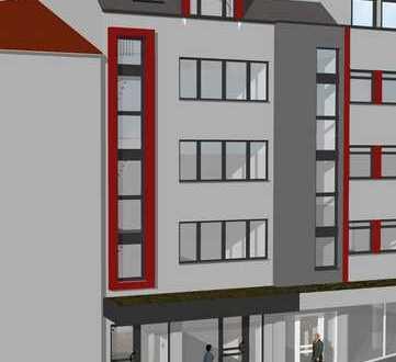 Moderne helle Praxis-/Bürofläche, über 2 Etagen, in Wohn-/Geschäftshaus in Stadtmitte