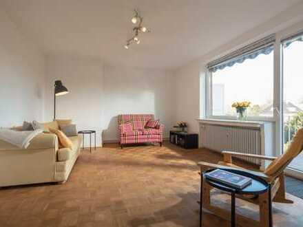 Ideale 3er WG-Wohnung mit Balkon, Sentruper Höhe, Nähe Uni-Klinikum