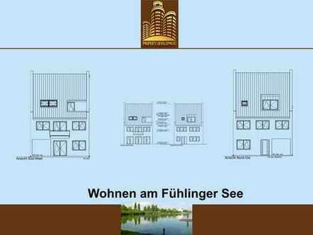 Traumhafte Wohnung im 2 Familienhaus, direkt am Fühlinger See