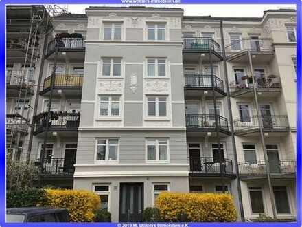 Frisch renovierte, vermietete 1 Zimmer WHG mit Terrasse, ca. 32,00 m², nahe Osterstraße