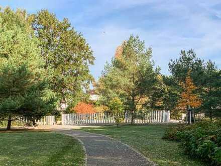 Grüne Aussichten: Attraktive 3-Zimmer-Wohnung mit ca. 152 m² Gartenfläche und Zugang zum Spreepark