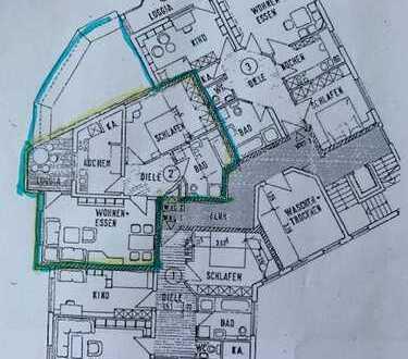 Ansprechende 2-Raum-Wohnung mit EBK und Balkon in Kreuztal