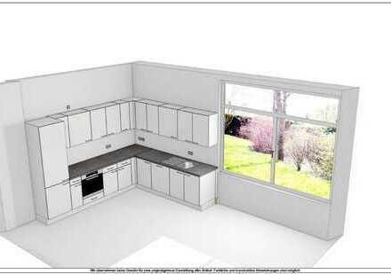 3ZKB Kernsaniert mit Einbauküche und Balkon in Wiesbaden City