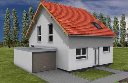 Doppelhaushälfte massiv gebaut mit WETON