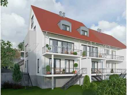 Neubau Doppelhaushälfte (erweiterter Rohbau) in Waldaschaff