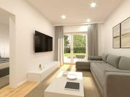 Herrliche 2-Zimmer-Eigentumswohnung mit hochwertiger Ausstattung, Terrasse und Garten