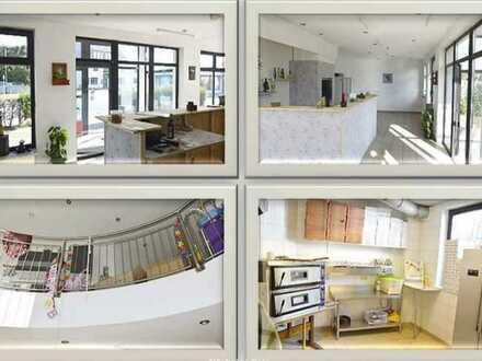 -Nähe Beelitz/ Gewerbeimmobilie für Café/Imbiss etc. (z.Zt.vermietet)