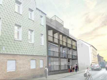 Neubauprojekt bestehend aus zwei Wohngebäuden mit insgesamt 23 Wohneinheiten