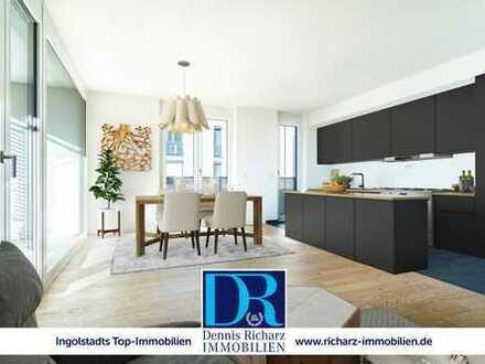 Provisionsfrei & Concierge inklusive! Urbane 3-Zimmer-Wohnung mit Premiumausstattung im Erstbezug!