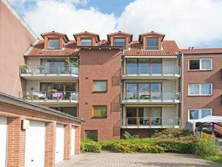 Maisonette-Wohnung mit Kamin und Balkon