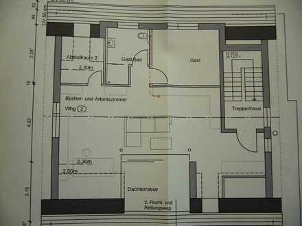 Erstbezug: freundliche 6,5-Zimmer-Wohnung mit Loggia + Dachterrasse in Altenriet