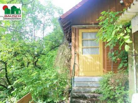 3614 m² Gartengrundstück mit Gartenhütte
