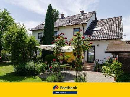 Endlich mal ein Haus für die große Familie - mit Traumgarten!